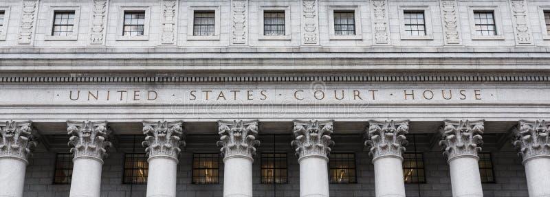 Camera di corte degli Stati Uniti immagini stock