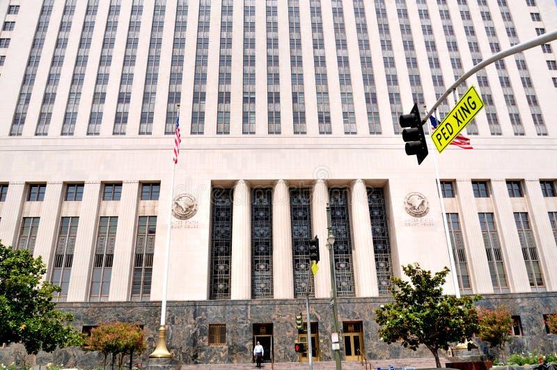 Camera di corte del centro a Los Angeles immagini stock libere da diritti