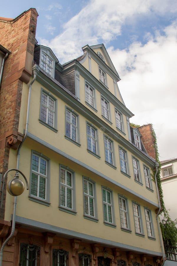 Camera di Goethe fotografie stock libere da diritti