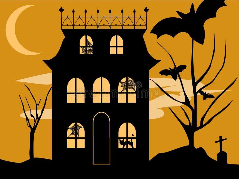 Camera di Halloween illustrazione di stock