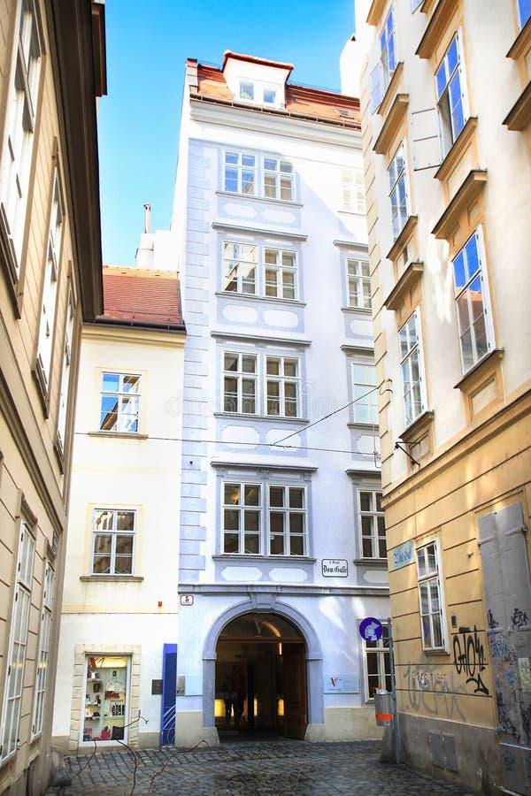 Camera di Mozart, Austria immagine stock