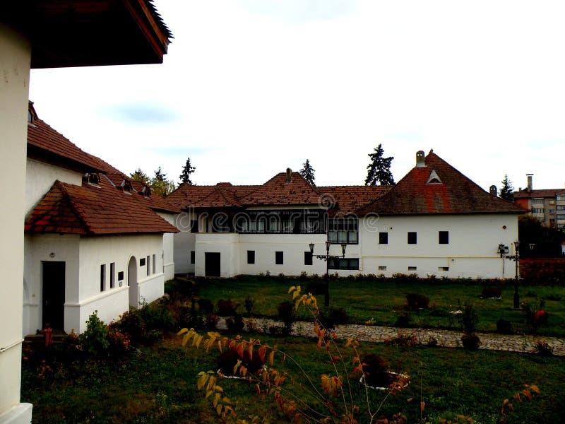 Camera di Nicolae Iorga, Valenii de Munte, Romania immagine stock libera da diritti