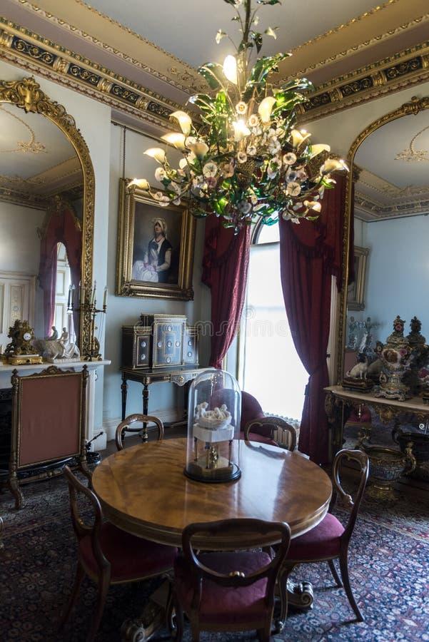 Camera di Osborne della stanza di ricezione fotografie stock libere da diritti