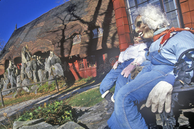 Camera di pan di zenzero, Tyringham, Massachusetts immagine stock
