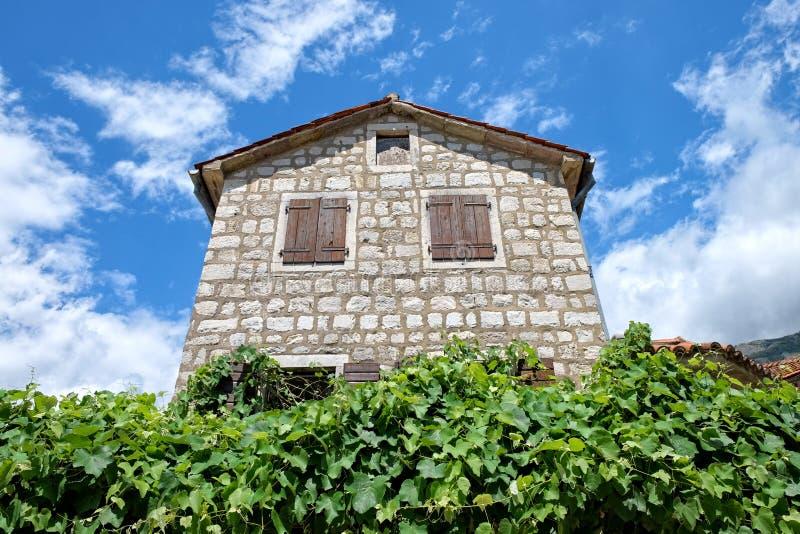 Camera di pietra nel Montenegro fotografia stock libera da diritti