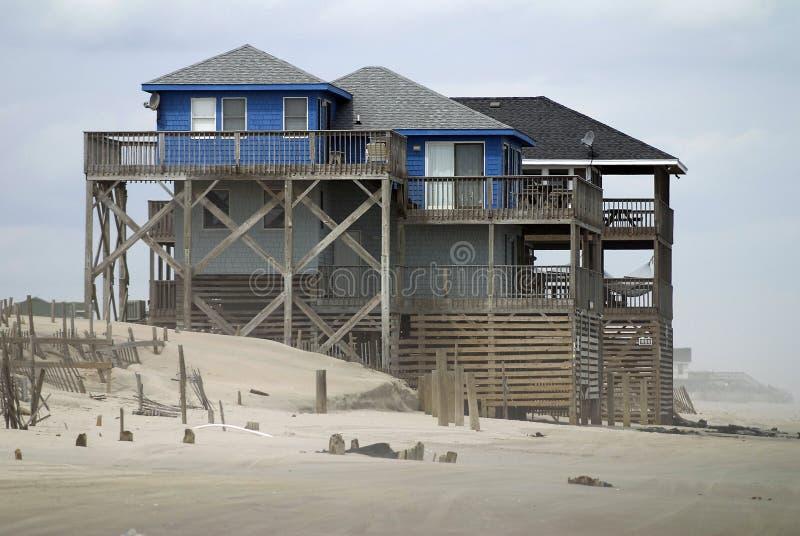 Camera di spiaggia immagini stock libere da diritti