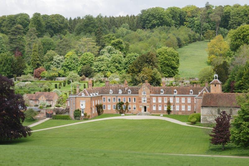 Camera di Stonor e parco Oxfordshire fotografia stock