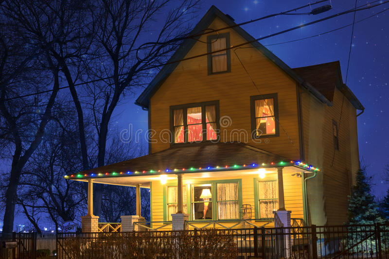 Camera di storia di Natale fotografia stock libera da diritti