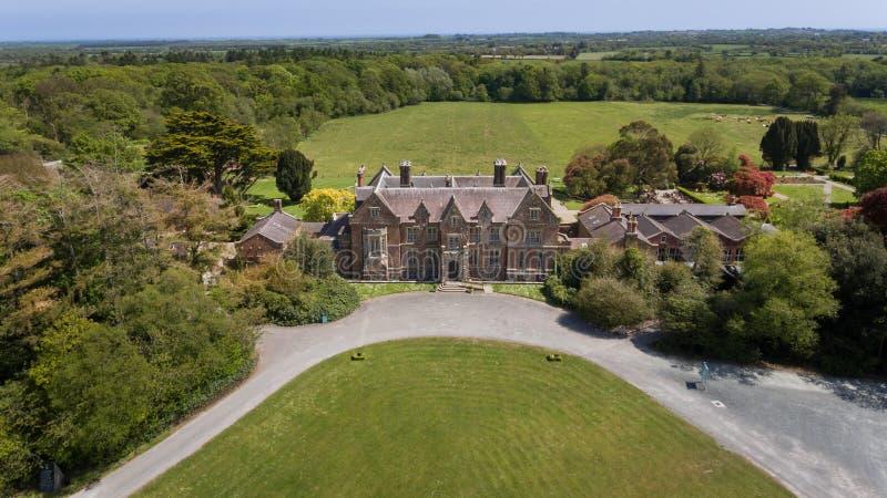 Camera e giardini di pozzi Wexford l'irlanda immagini stock libere da diritti