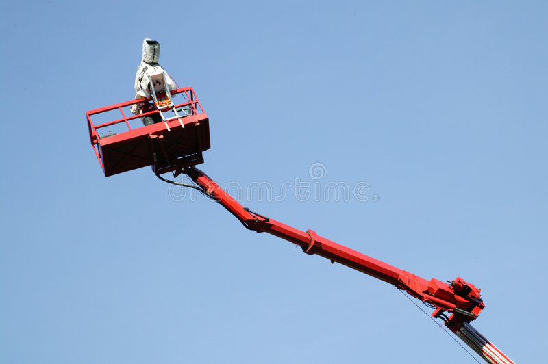 Download Camera eye in the sky stock image. Image of production, blue - 10273