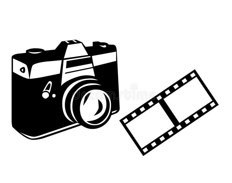 Camera & Film stock illustratie
