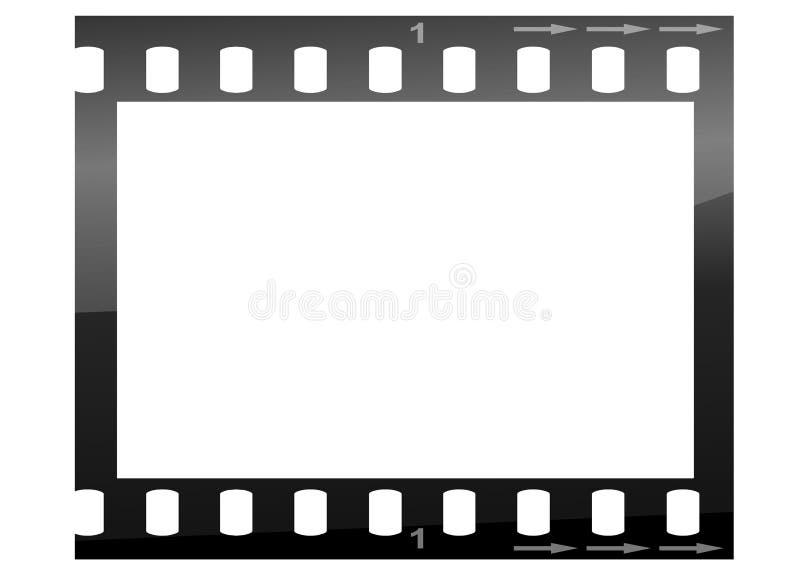 Camera Film Strip stock illustration