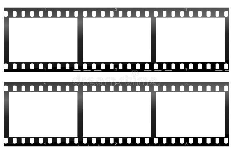 Camera Film Strip royalty free illustration