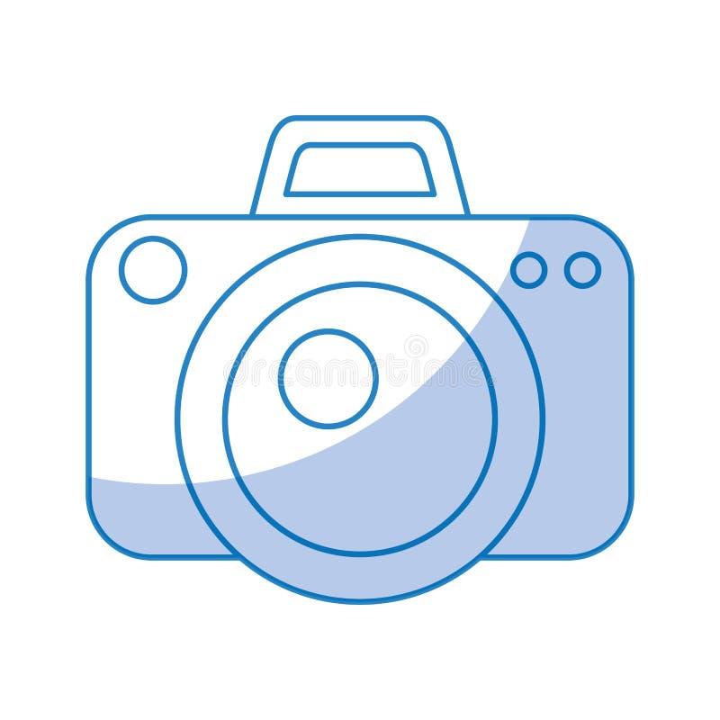 Camera fotografisch geïsoleerd pictogram royalty-vrije illustratie