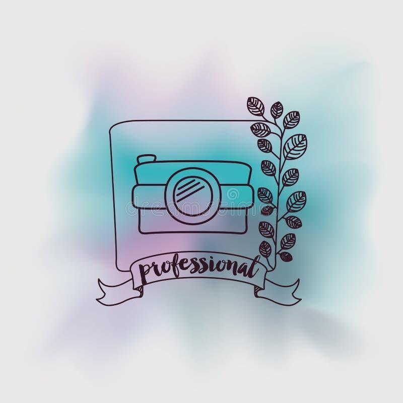 Camera fotografisch ontwerp vector illustratie