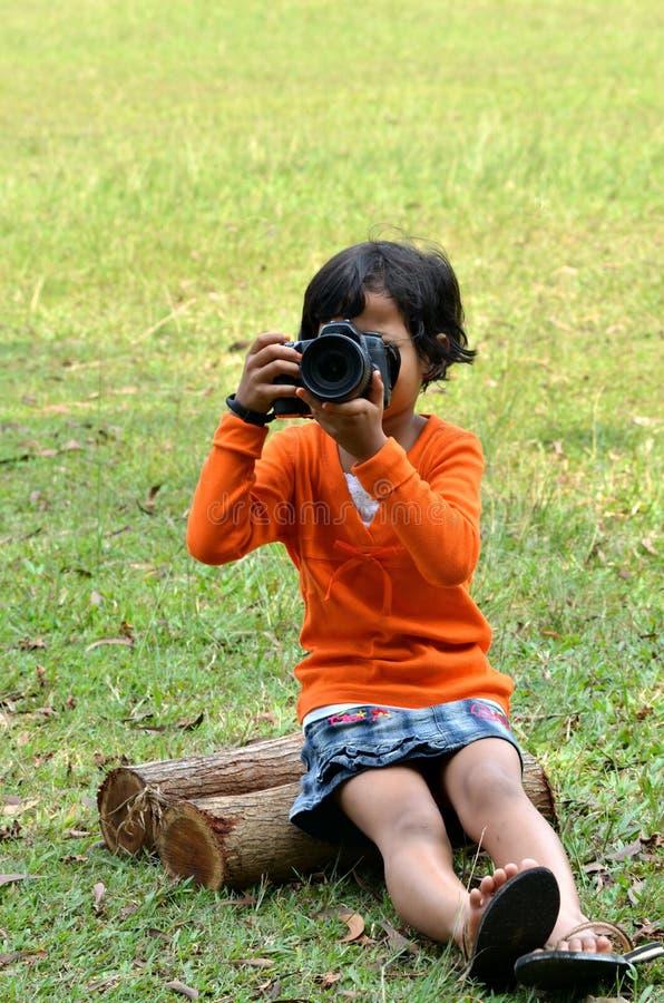 Free Camera Girl Royalty Free Stock Photography - 20198567