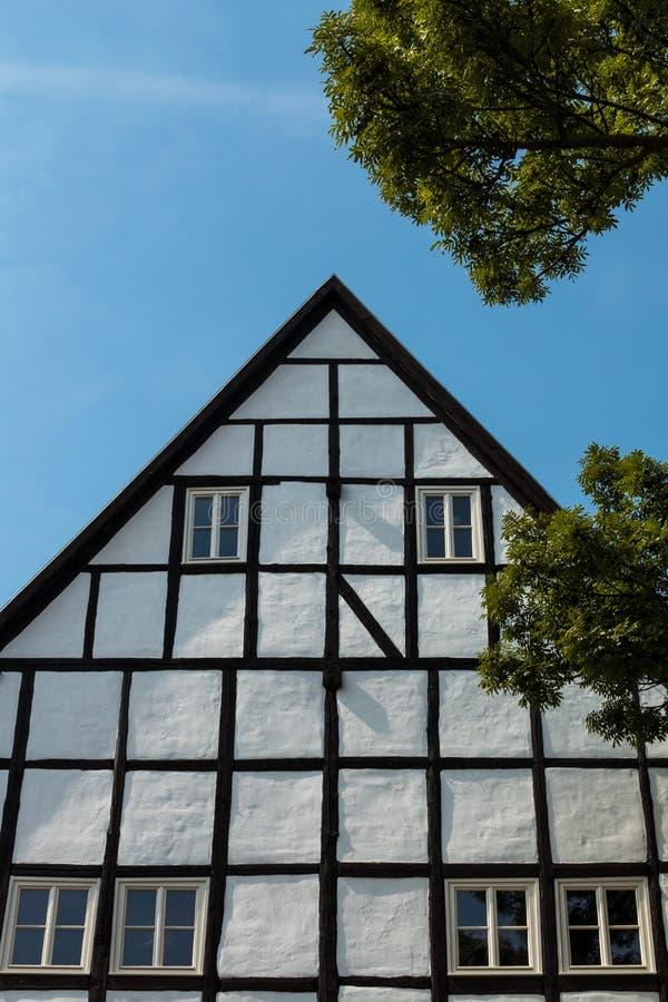 Camera a graticcio in Quedlinburg Germania fotografia stock libera da diritti