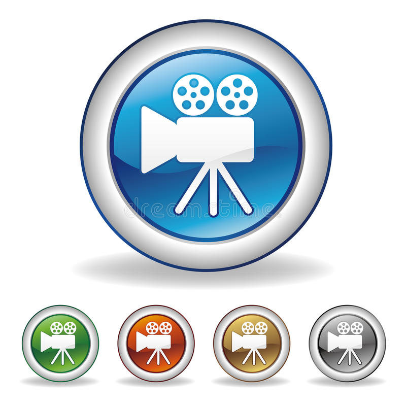 camera icon stock illustration