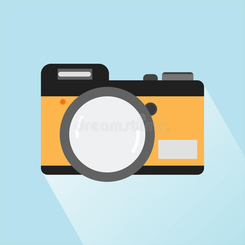 Camera Icon, Camera Icon EPS10, Camera Icon Vector 04 stock illustration