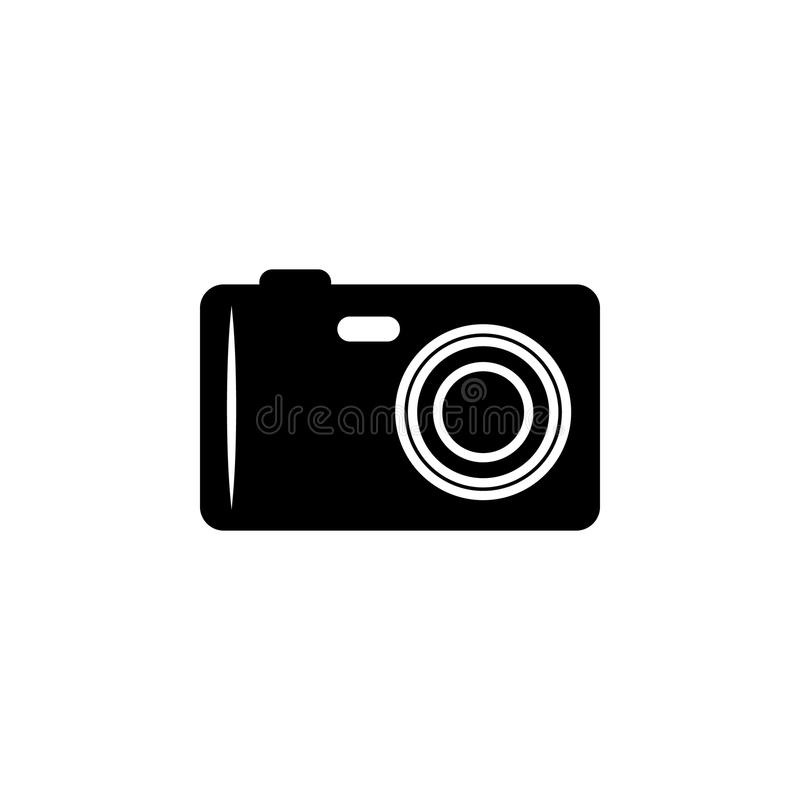 camera icon. Element of beach holidays icon for mobile concept and web apps. Isolated camera icon can be used for web and mobile. vector illustration