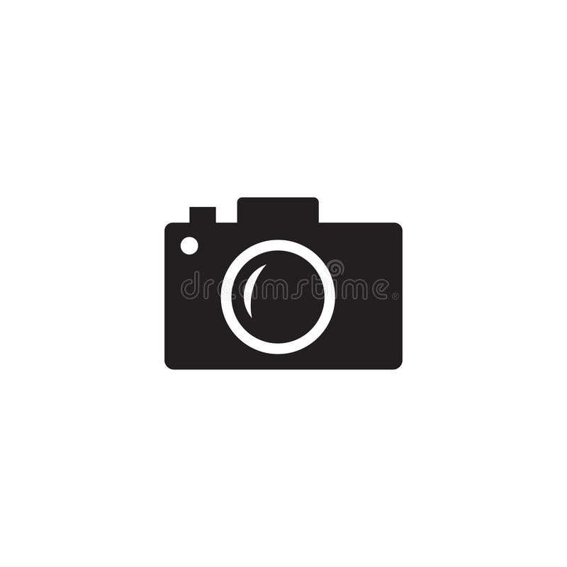 Camera Icon Vector,Camera icon. Camera symbol for your web site design, logo, app, UI royalty free illustration