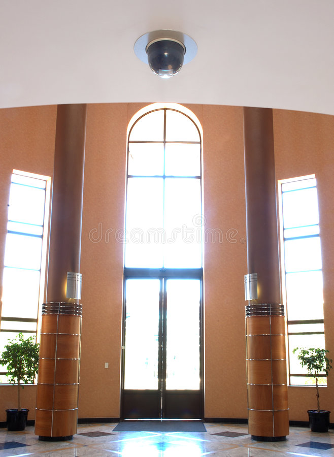 Free Camera In Office Entrance Stock Photography - 358102