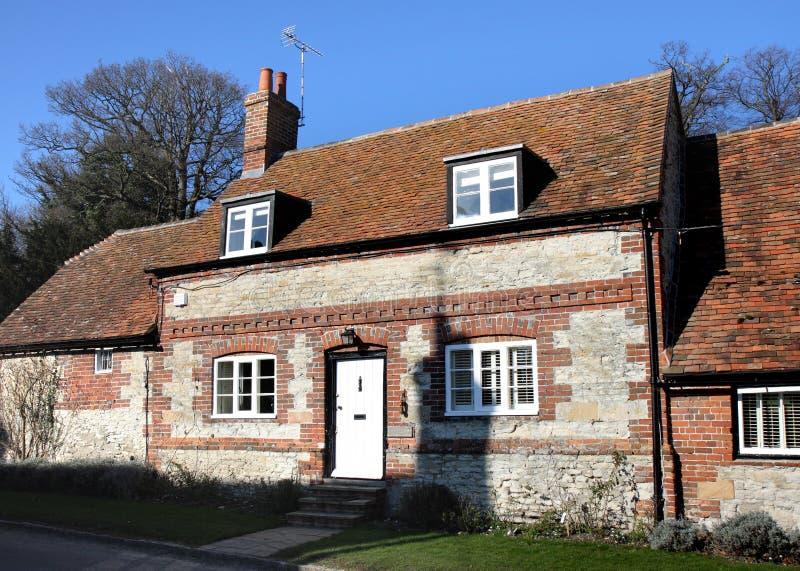 Camera inglese del villaggio immagine stock