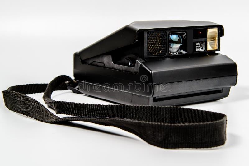 Camera instant film polaroid type with lanyard stock photo for Camera film logo