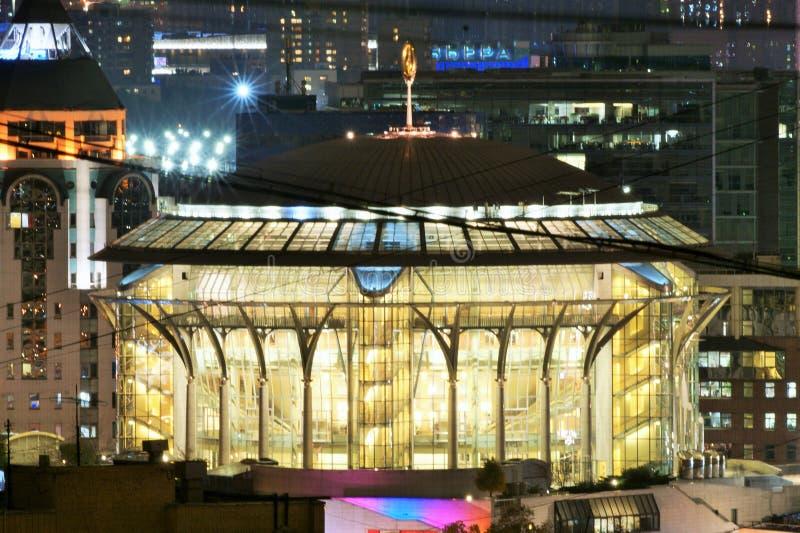 Camera internazionale di Mosca di musica immagine stock