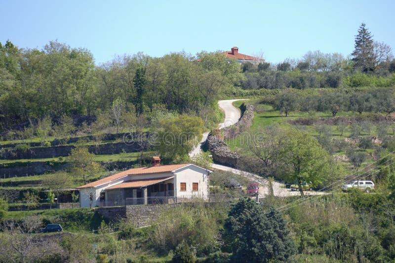 Camera in Istria immagini stock libere da diritti