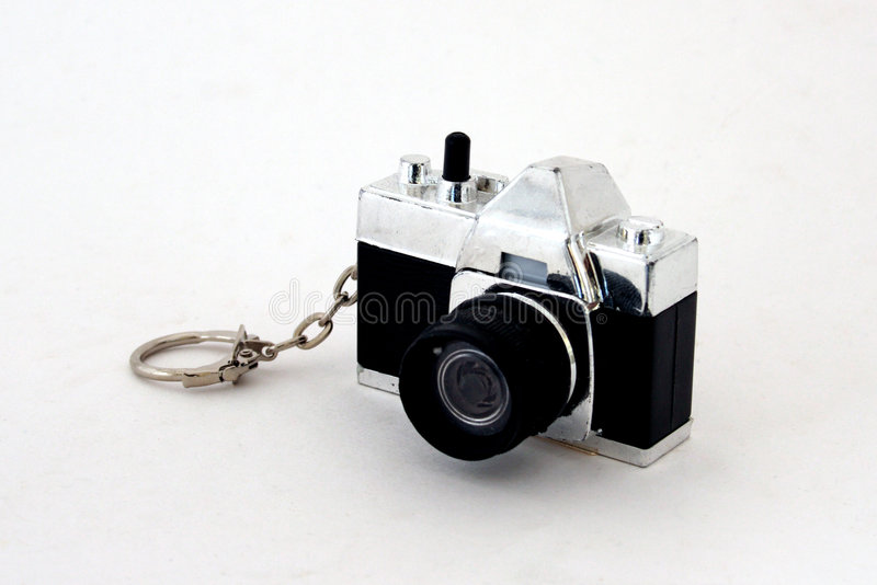 Camera key chain royalty free stock image