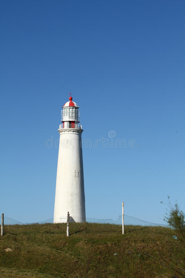 Camera leggera, EL Faro del Cabo Santa Maria, Uruguay immagini stock libere da diritti