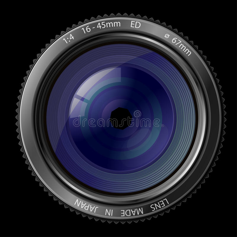 Download Camera lens stock vector. Illustration of photography - 14026648