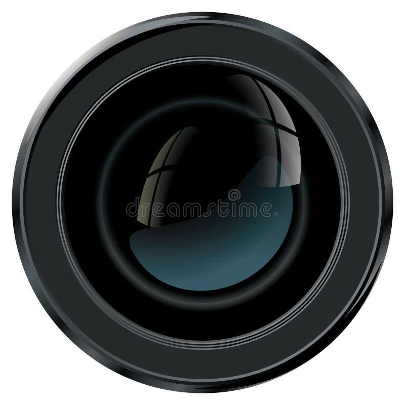 Camera Lens royalty free illustration
