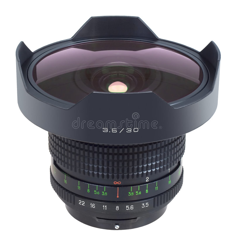 Download Camera Lens stock photo. Image of lens, isolated, nikon - 5980666