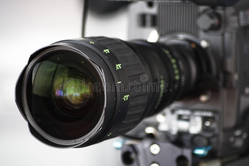 Download Camera lens stock image. Image of image, microphone, action - 6092183
