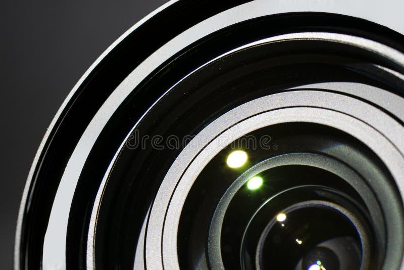 Close up to camera lens detail. royalty free stock image