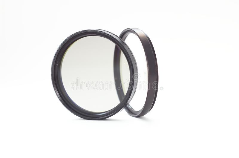 Download Camera Lens Filters On White Stock Image - Image of technique, professional: 8714465