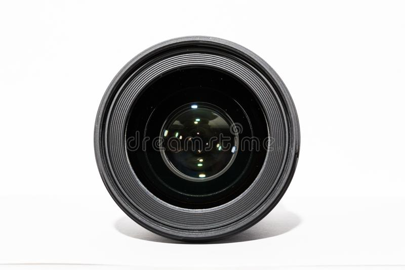 Camera lens. prime lens. stock photography