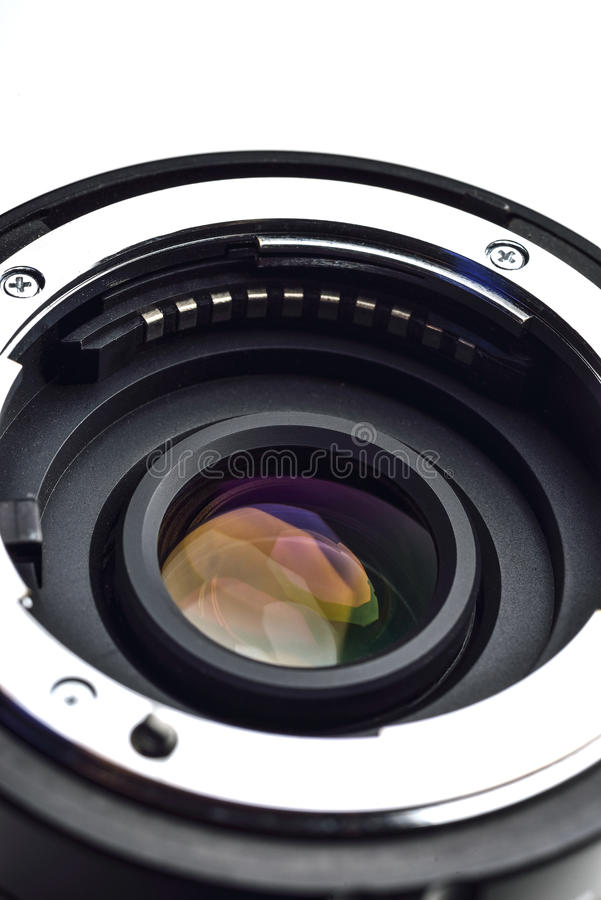 Camera Lens mount with CPU royalty free stock images