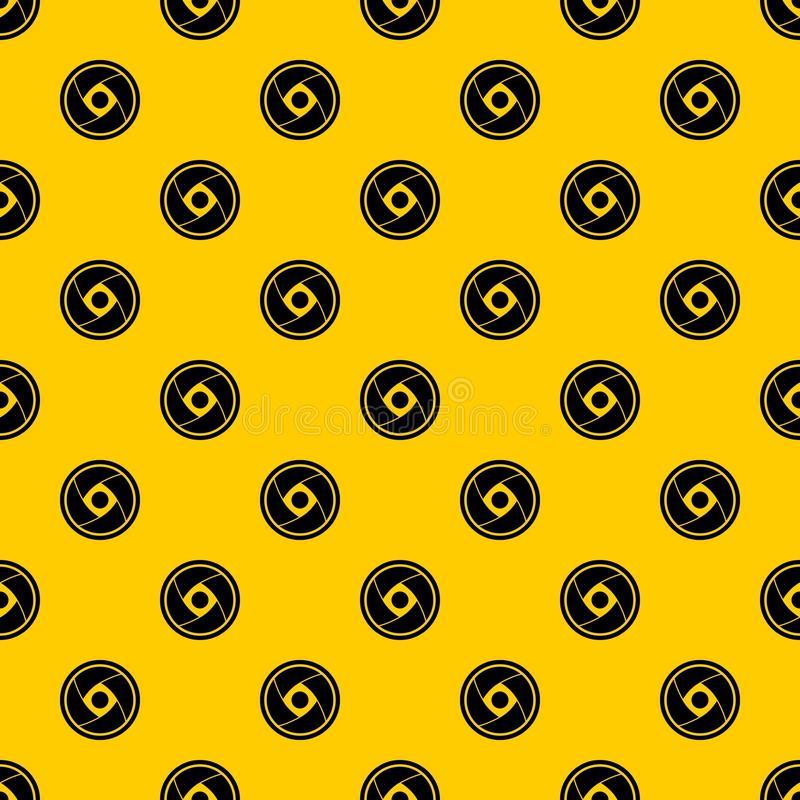 Camera lens pattern vector royalty free illustration
