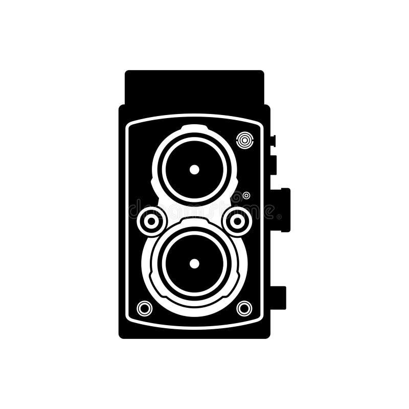 camera lens reflex twin απεικόνιση αποθεμάτων