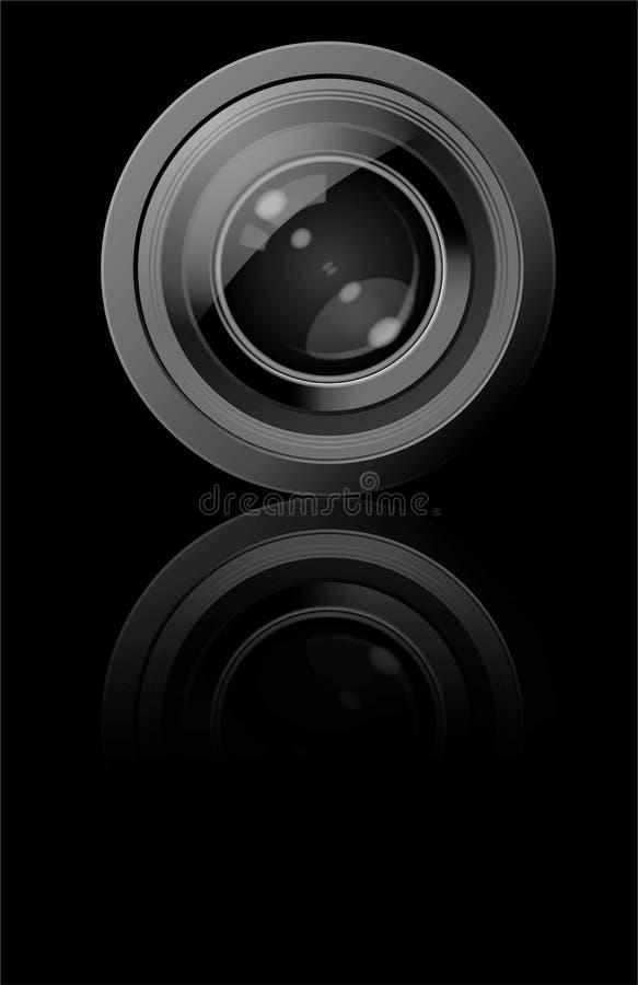Free Camera Lens (Vector) Royalty Free Stock Photos - 6910258