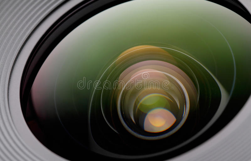 Camera lense stock images