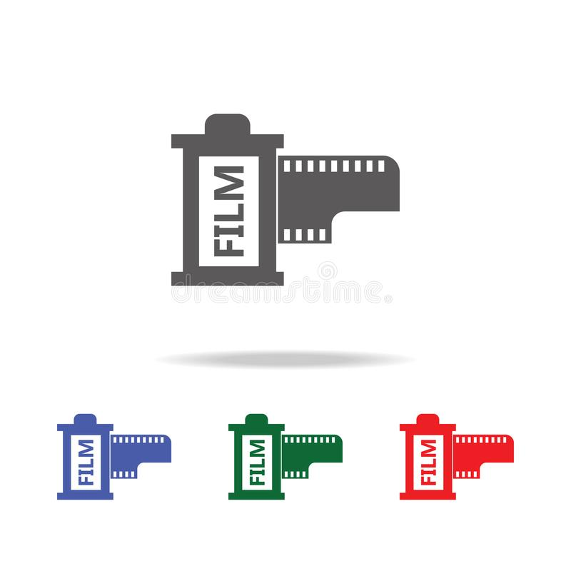Camera lent icon. Elements of photo camera in multi colored icons. Premium quality graphic design icon. Simple icon for websites,. Web design, mobile app, info stock images
