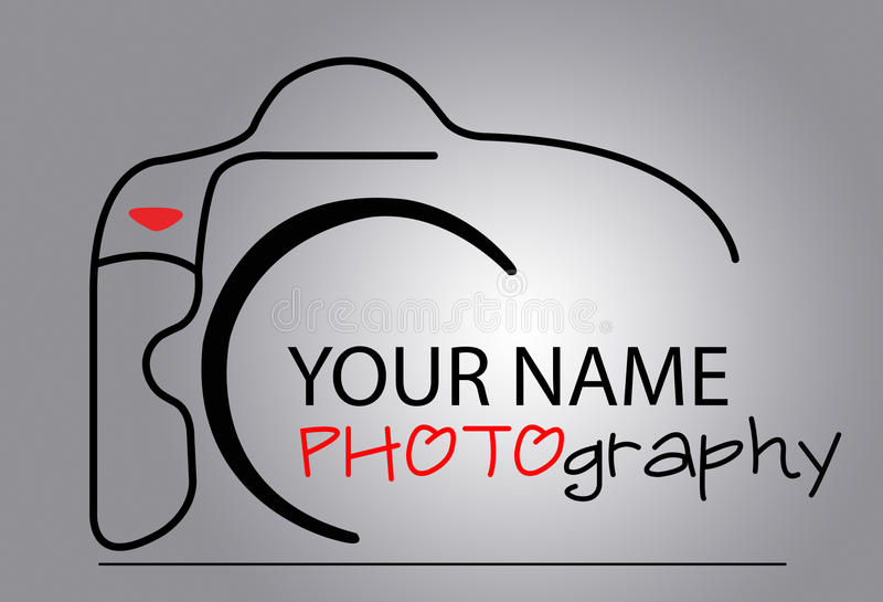 Camera Logo royalty free illustration