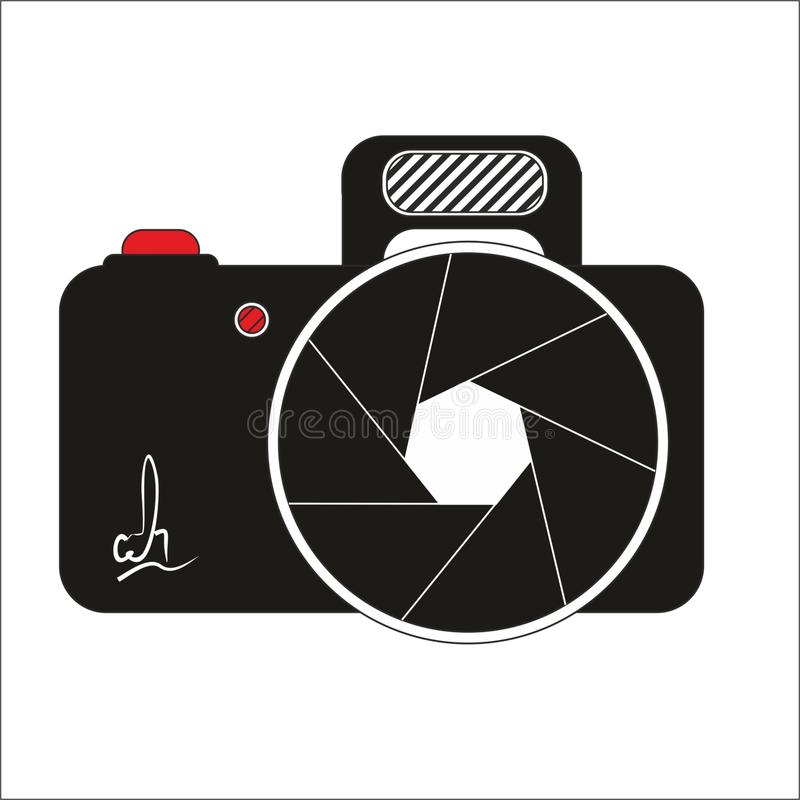 Camera Logo. Corel Draw Vector Graphic attached. Logo from everything foto stock illustration