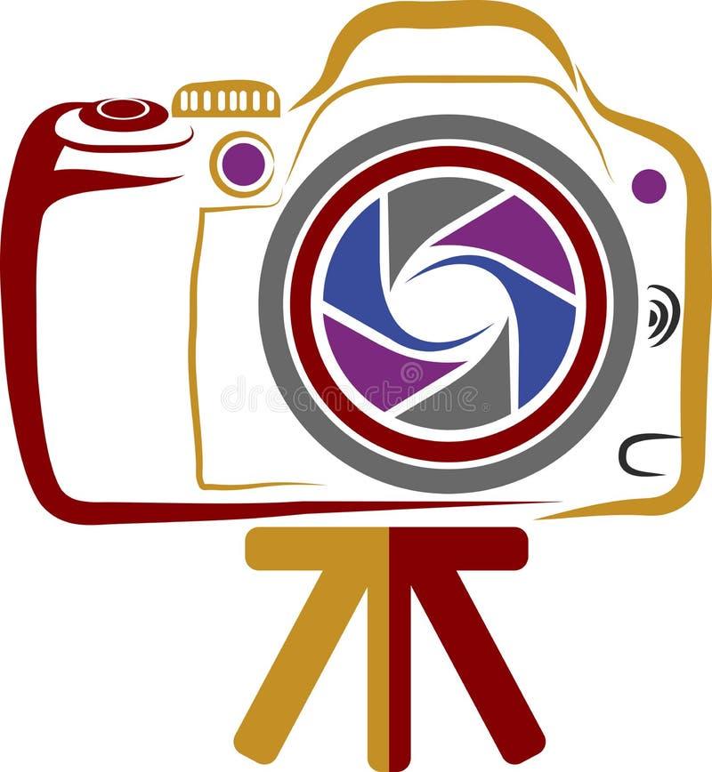 Camera logo stock illustration
