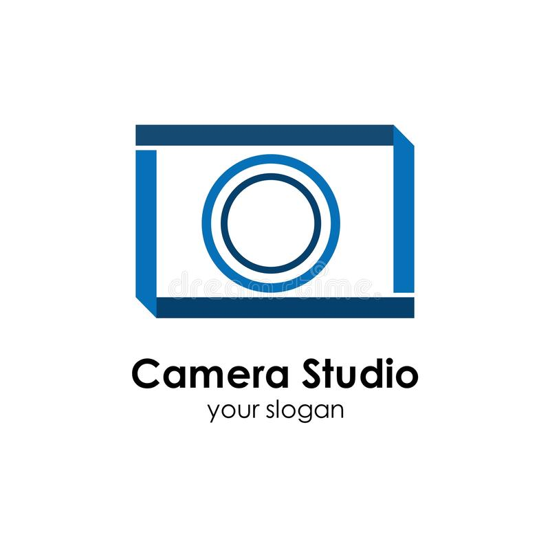 Camera logo template design vector icon illustration. Photography, photographer, lens, focus, symbol, digital, modern, technology, studio, equipment, film vector illustration