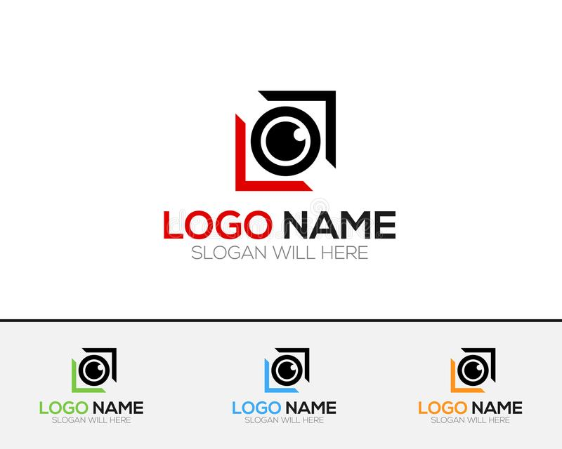 Camera Logo Template online store vectors illustration. This is very easy to use. U ca Use as your won simply vector illustration